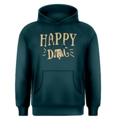 Happy Dog   Men s Pullover Hoodie by FunnySaying