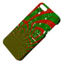 Background Abstract Christmas Pattern Apple iPhone 5 Hardshell Case with Stand View4