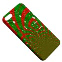 Background Abstract Christmas Pattern Apple iPhone 5 Hardshell Case with Stand View5