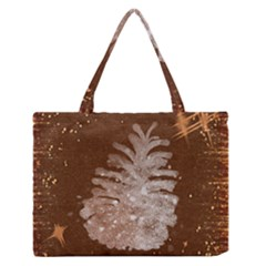 Background Christmas Tree Christmas Medium Zipper Tote Bag