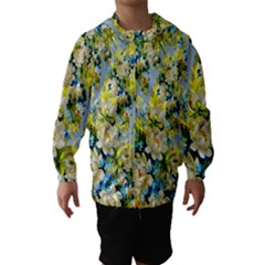 Background Backdrop Patterns Hooded Wind Breaker (kids)