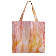 Background Modern Computer Design Zipper Grocery Tote Bag by Nexatart