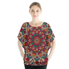 Background Metallizer Pattern Art Blouse
