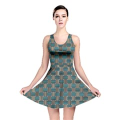 Background Vert Reversible Skater Dress by Nexatart