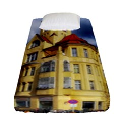 Berlin Friednau Germany Building Fitted Sheet (single Size) by Nexatart