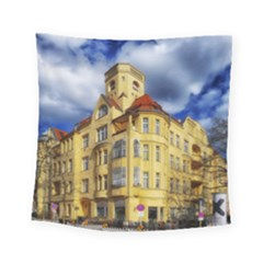 Berlin Friednau Germany Building Square Tapestry (small)