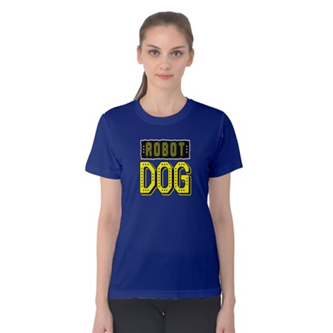 Robot Dog - Women s Cotton Tee by FunnySaying