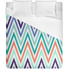 Chevrons Colourful Background Duvet Cover (california King Size)