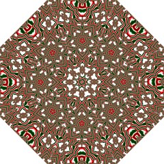 Christmas Kaleidoscope Straight Umbrellas