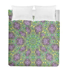 Modern Ornate Geometric Pattern Duvet Cover Double Side (full/ Double Size) by dflcprints
