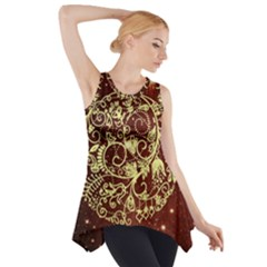 Christmas Bauble Side Drop Tank Tunic by Nexatart