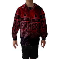 Christmas Contemplative Hooded Wind Breaker (kids)
