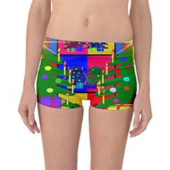 Christmas Ornaments Advent Ball Boyleg Bikini Bottoms by Nexatart