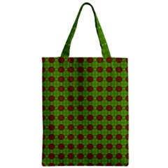 Christmas Paper Wrapping Patterns Zipper Classic Tote Bag