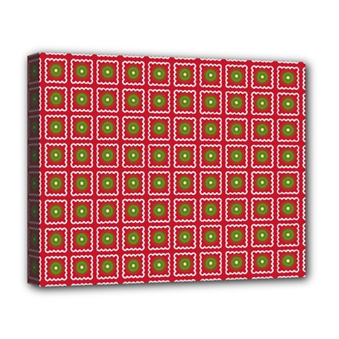 Christmas Paper Wrapping Deluxe Canvas 20  X 16
