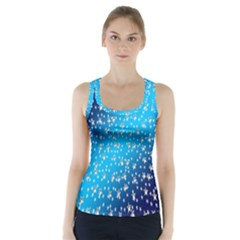 Christmas Star Light Advent Racer Back Sports Top by Nexatart