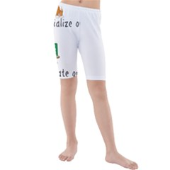 Homeschoolers Socialize Kids  Mid Length Swim Shorts by athenastemple