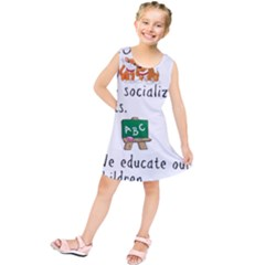 Homeschoolers Socialize Kids  Tunic Dress by athenastemple