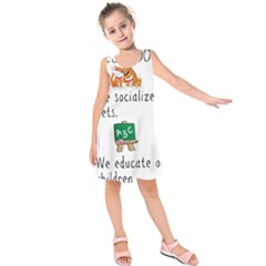 Homeschoolers Socialize Kids  Sleeveless Dress by athenastemple