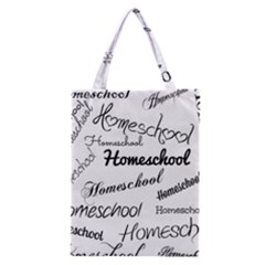 Homeschool Classic Tote Bag by athenastemple