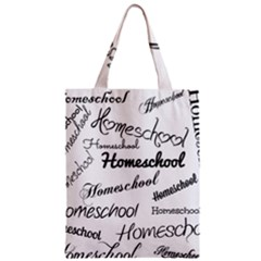 Homeschool Zipper Classic Tote Bag by athenastemple