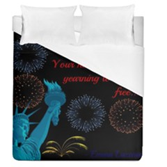 Huddledmasses Duvet Cover (queen Size) by athenastemple