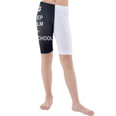 Keepcalmhomeschool Kids  Mid Length Swim Shorts by athenastemple