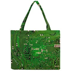 Circuit Board Mini Tote Bag by Nexatart