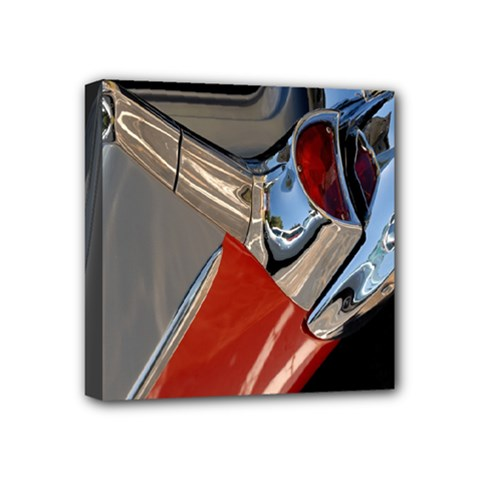 Classic Car Design Vintage Restored Mini Canvas 4  X 4  by Nexatart