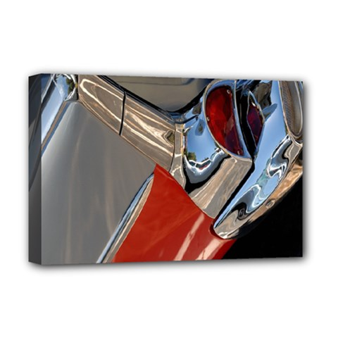 Classic Car Design Vintage Restored Deluxe Canvas 18  X 12   by Nexatart