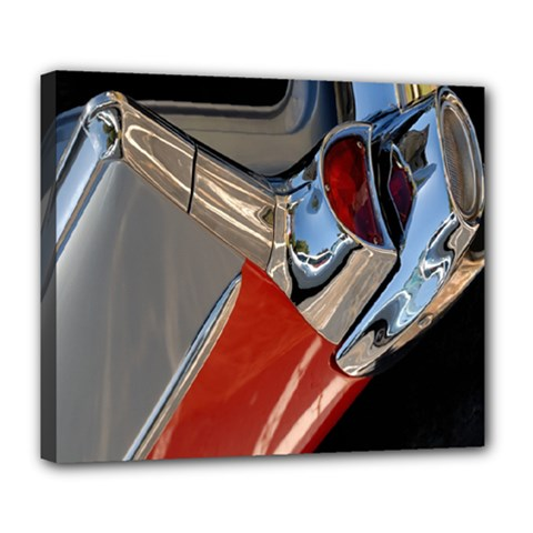 Classic Car Design Vintage Restored Deluxe Canvas 24  X 20   by Nexatart