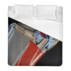 Classic Car Design Vintage Restored Duvet Cover (full/ Double Size) by Nexatart