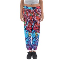 Colorful Graffiti Art Women s Jogger Sweatpants
