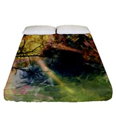 Decoration Decorative Art Artwork Fitted Sheet (queen Size)