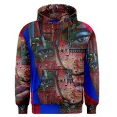 Display Dummy Binary Board Digital Men s Pullover Hoodie by Nexatart