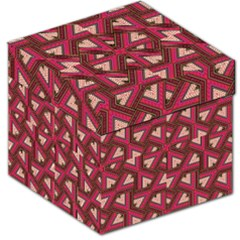 Digital Raspberry Pink Colorful Storage Stool 12   by Nexatart