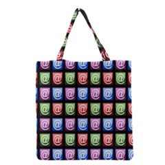 Email At Internet Computer Web Grocery Tote Bag by Nexatart