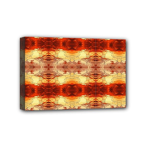 Fabric Design Pattern Color Mini Canvas 6  X 4  by Nexatart
