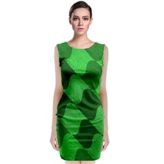 Fabric Textile Texture Surface Classic Sleeveless Midi Dress