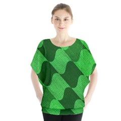 Fabric Textile Texture Surface Blouse by Nexatart