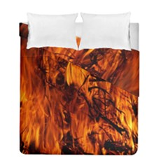 Fire Easter Easter Fire Flame Duvet Cover Double Side (full/ Double Size) by Nexatart