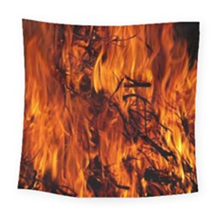 Fire Easter Easter Fire Flame Square Tapestry (large) by Nexatart