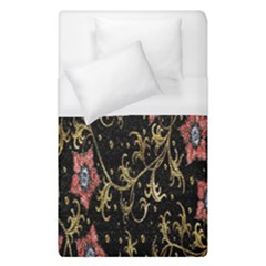 Floral Pattern Background Duvet Cover (single Size) by Nexatart