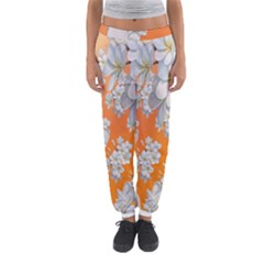 Flowers Background Backdrop Floral Women s Jogger Sweatpants by Nexatart
