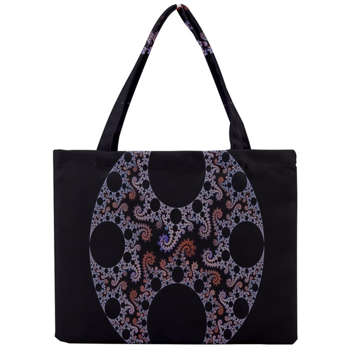 Fractal Complexity Geometric Mini Tote Bag