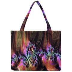 Fractal Colorful Background Mini Tote Bag by Nexatart