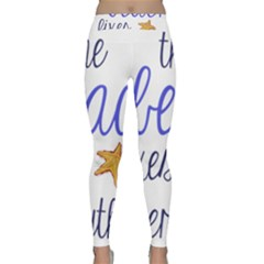The Beach Fixes Everything Classic Yoga Leggings by OneStopGiftShop
