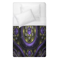 Fractal Sparkling Purple Abstract Duvet Cover (single Size)
