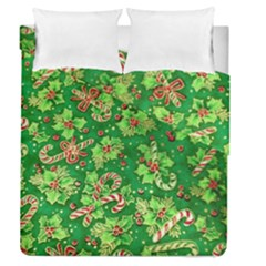 Green Holly Duvet Cover Double Side (queen Size)