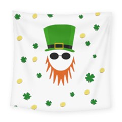 St  Patrick s Day Square Tapestry (large)